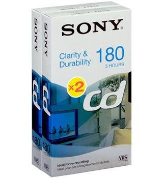 Sony E 180 CD Video cassette - Confezione da 2