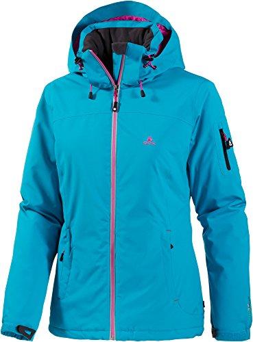 OCK Damen Funktionsjacke Jacke 10.000mm (Schwarz, 42)