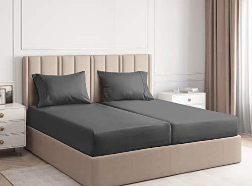 Split King Sheets for Adjustable Beds - Split King...