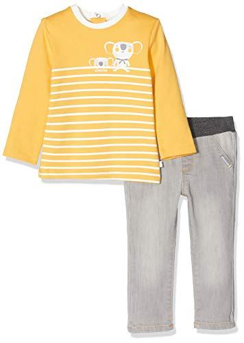 Absorba 7p36341-ra Ens Pantalon Conjunto, Gris (Grey Chiné 24), 18-24 Meses (Talla del Fabricante: 18M) para Bebés