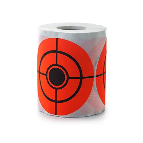 GUGULUZA 250 Stücke Selbstklebende Zielscheiben Aufkleber Runde 7.5cm / 3 Zoll für Gewehre Pistole Softair BB Schieβübungen