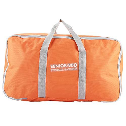 Mehrzweck-wasserdichte Picknick-Kochgeschirr-Tasche, Grillgeschirr-Tasche für Outdoor-Camping, Kochutensilien, Organizer (kleine gelbe Verpackung)