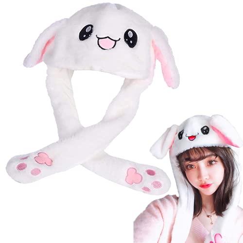 BAYINBROOK Cappello da Coniglio Orecchio Cappello da Salto Mobile Cappello da Coniglio Divertente in Peluche per...