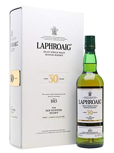 Laphroaig 30 Years Old The Ian Hunter Story Book 1: Unique Character Limited Edition 46,7% Vol. 0,7 l + GB