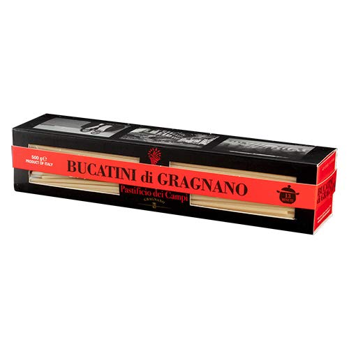 Pastificio dei Campi - No.11 Bucatini, Pasta di Gragnano IGP, 500g