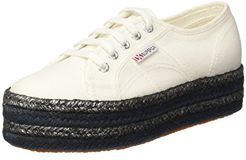 SUPERGA 2790-COTCOLOROPEW, Sneaker Donna, White, 38