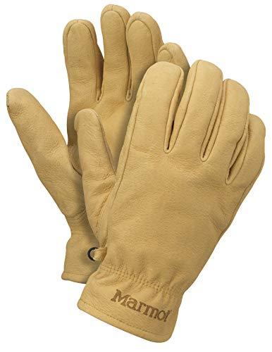 Marmot Basic Work Glove Trabajo De Cuero, Guantes Resistentes, para Exteriores, Pescar, Conducción, Hombre, Tan, M