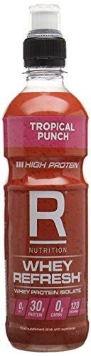 Reflex Nutrition Whey Refresh Tropical Punch, 500 ml, 20-Unit