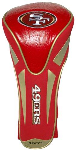 Team Golf NFL San Francisco 49ers Golf Club Single Apex Driver Headcover, Fits All Oversized Clubs, Truly Sleek Design