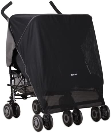Koo DI Double Sun and Sleep Stroller Cover Black product image