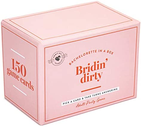 Bachelorette Party Box Games Bridin Dirty Complete Bundle Kit for a Girls Night Out with The product image