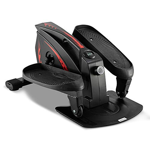 New MTFY Under Desk Elliptical Machine,Elliptical Machine Trainer,Under Desk Elliptical Bike Pedal E...