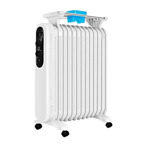 Check Out This Heaters,13-Piece Electric Heating Oil Radiator for Household Heating, 3-Speed Thermos...