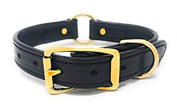 Best black leather dog collar Reviews