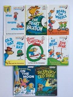 Hardcover Berenstain Bears (Set of 8) Bears' Vacation; Bears On Wheels; He Bear She Bear Book