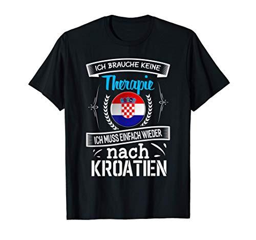 Kroatien Design Kroatien Urlaub T-Shirt
