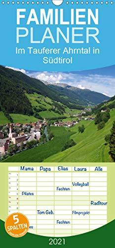 Im Tauferer Ahrntal in Südtirol - Familienplaner hoch (Wandkalender 2021, 21 cm x 45 cm, hoch)