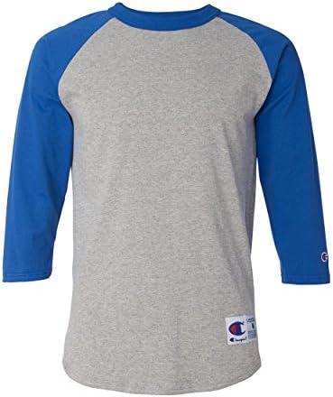Camiseta Champion de béisbol para Hombre Raglan