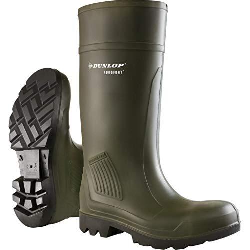 Dunlop - Botas de agua para hombre, color grün, talla 41.5