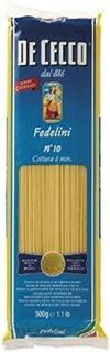 ディ・チェコ No.10 フェデリーニ 500g×24個 [並行輸入品]