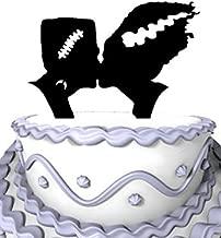 Meijiafei Halloween Monster Cake Toppe Wedding Cake Topper