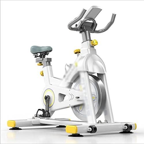 CJDM Bicicletta da Spinning a Controllo Magnetico, Cyclette per Interni, Bicicletta a Pedali per Uso Domestico, Attrezzature per Esercizi Fitness