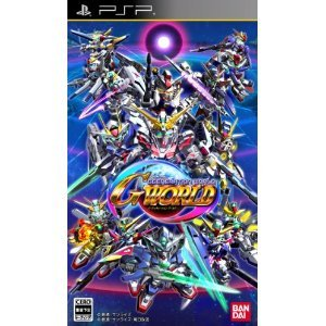 Bandai Namco SD GUNDAM G GENERATION WORLD for PSP [Japan Import]