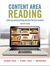 Content Area Reading: Literacy and Learning Across the Curriculum (12th Edition)