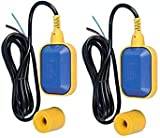 OCEAN STAR Float Switch Fluid Level Controller Wired Magnestic Sensor Square Head Float Switch Water Level Controller WLC Cable Floaty - Pack Of (2)