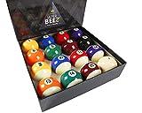 JAPER BEES Pool Balls Billiard Balls Set Regulation Size Classic Pro and Marble...