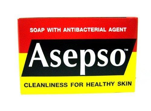 12x Asepso-zeep met antibacteriële reinheid voor een gezonde huid Originele groothandelsprijs gemaakt van Thailand