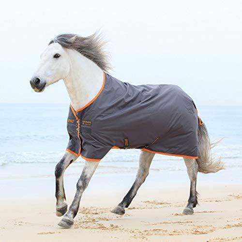 Horseware Amigo Turnout Hero 6 lite Excalibur orange Regendecke (115)