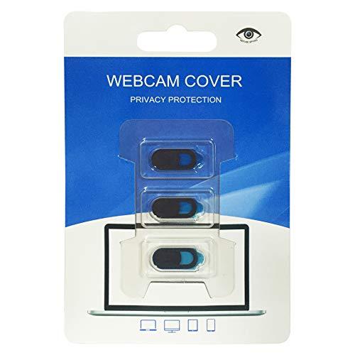 Funda de cámara X3 para ASUS ZenBook Webcam Smartphone Tablet – Lote de 3 (Negro)