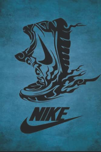 Nike Shoes: Notebook 120 pages | 6' x 9' | Collage Lined Pages