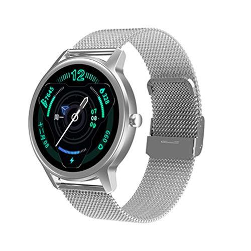 LXZ 1,28 Zoll Im Freien Gesunden Schlaf Stoppuhr Pulsuhr Bluetooth wasserdichte Multi-Sport Multifunktionalen Smart Uhr Für Männer Und Frauen,B