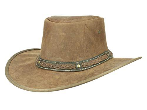 Scippis Sundowner Hat, Marron, S Unisex-Adult