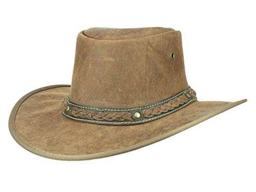 Scippis Sundowner Hat, Marron, S Unisex-Adult