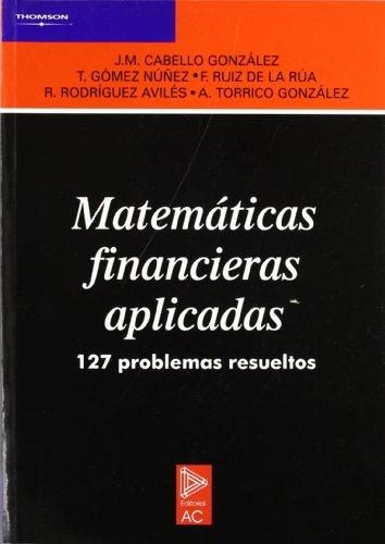 Matemáticas financieras aplicadas.