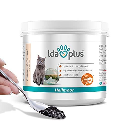 Ida Plus – Heilmoor 200 g für Katzen - Verbessert die Kotbeschaffenheit – optimale Verdauung – wertvolle B-Vitamine – zur Appetit Anregung – mit natürlichem Torf aus dem Hochmoor