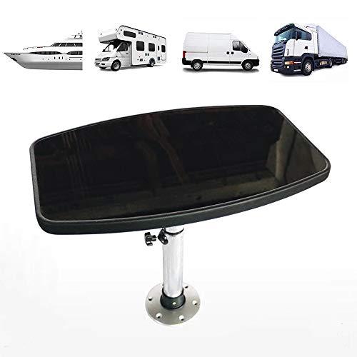 Tischplatte für Wohnwagen/Wohnmobiltisch/wohnwagen Bartisch/Bistrotisch Tisch/campingtisch,wohnmobil tisch für Caravan, Boot, Wohnwagen,C-600×380mm