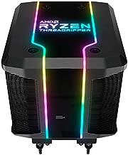 Cooler Master AMD Wraith Ripper ThreadRipper TR4 High Performance CPU Air Cooler, Addressable RGB Threadripper logo's display, 7 Heat Pipes, Dual Tower Heatsink, Wraith Armor Air-Guide