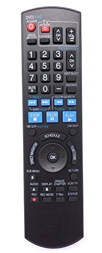 Universal Remote Control for Panasonic DMREZ485V DMR-EZ485V DMREZ48V DMR-EZ48V DMR-EZ48VK DVD Recorder (DVDR)