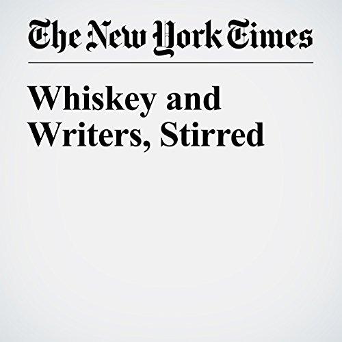 Whiskey and Writers, Stirred copertina