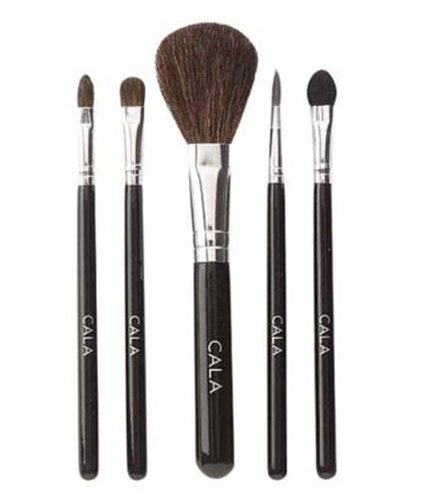 Kit de Pinceau Lily Maquillage Cala 5pcs (Small) 76521 + Polissoir a Ongles Aviva