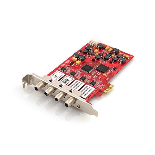 TBS 6904 DVB-S2/-S Quad-Tuner, PCIe Satelliten-TV-Karte