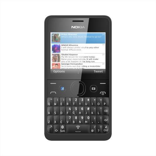 Nokia Asha 210 6,1 cm (2.4') Nero 1200 mAh