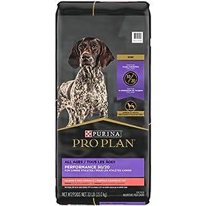 Purina Pro Plan High Protein, High Energy Dry Dog Food, 30/20 Salmon & Rice Formula – 33 lb. Bag