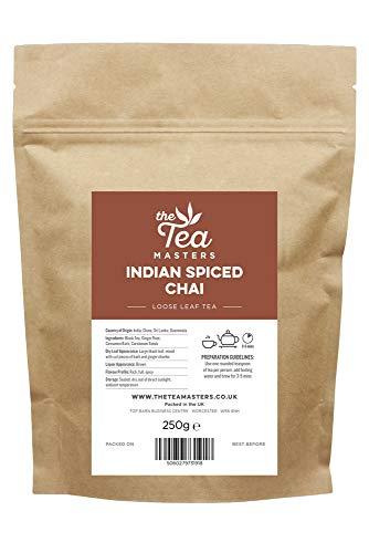 The Tea Masters Tè Foglie Sfuse Chai con Spezie Indiane 250g