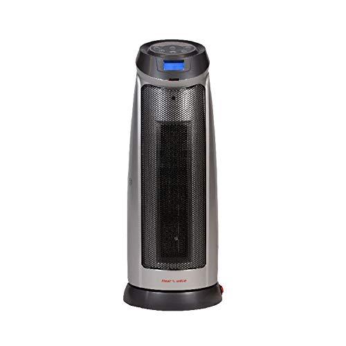 Calentador Calefactor Elec 1500w Ceramico Torre Heat Wave