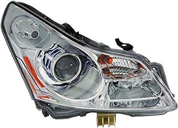 LED Headlight Kit H1 White 6000K Fog Light Bulbs for INFINITI G37 2009-2010 4DR